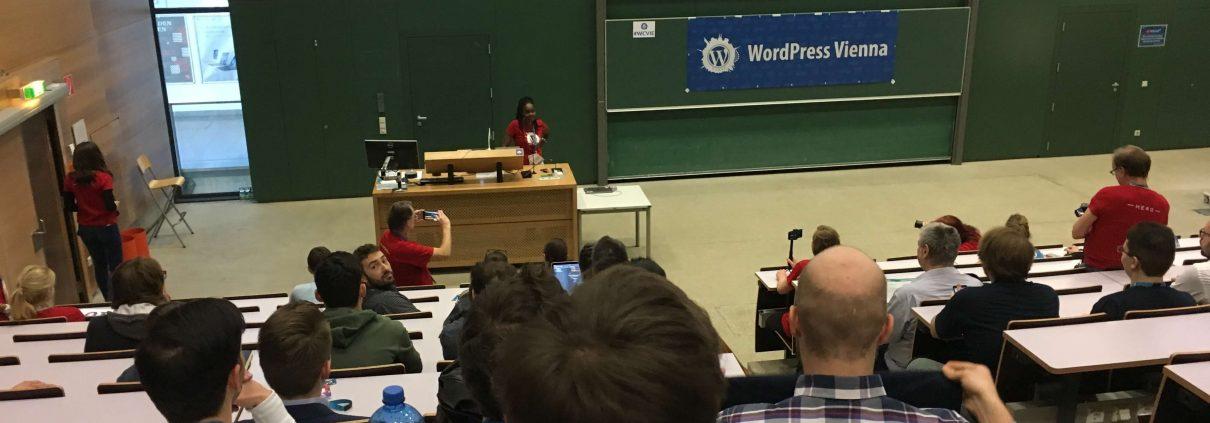 WordCamp Vienna 2018 #WCVIE