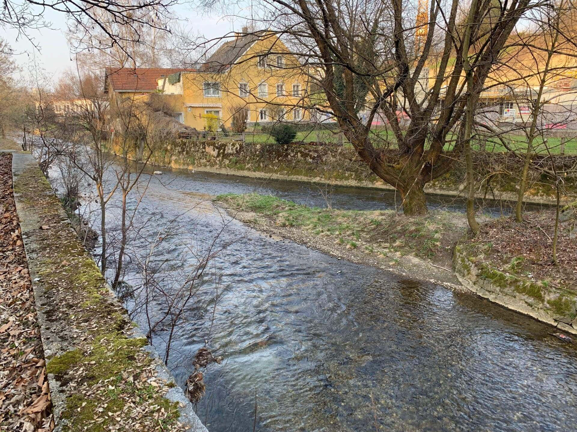Zusammenfluss Oberach Breitsach
