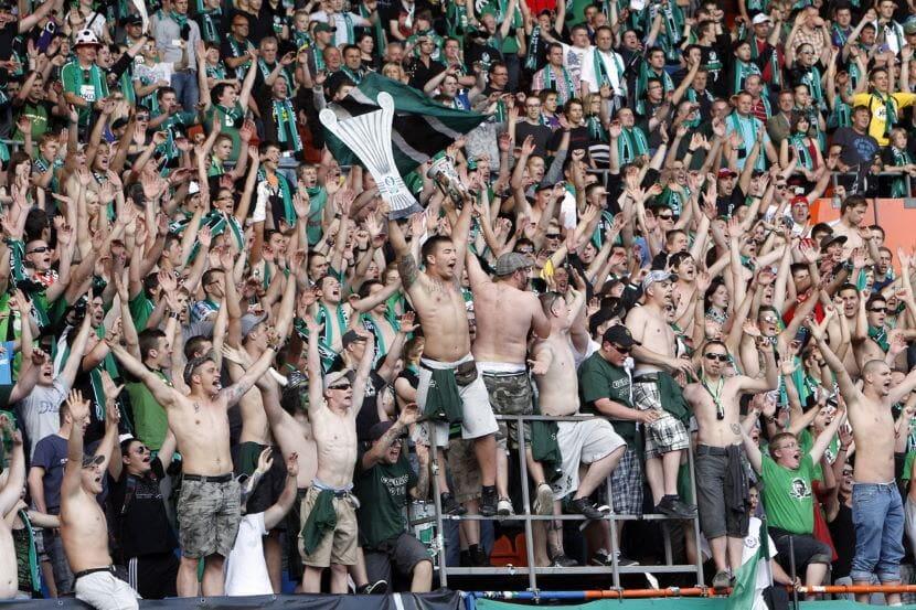 SV Ried Fans Cupsieg 2011